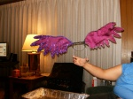 Purple Angel Wings In Progress
