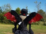 Demon Griffin Feathered Wings - $100