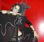 Hand Painted Wings of the Morrigan - $80