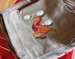 Koi Fish Messenger Bag  - $45