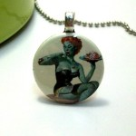 Pinup Zombie Necklace $4.75