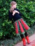 Paneled Skirt