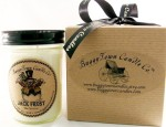 Jack Frost Soy Wax Candle - $5