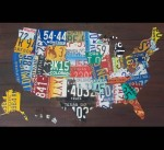 United State Lincense Plate Map - $1,850