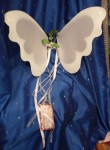 Mistletoe Fairy Wings - $27