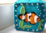 Clown Fish Embroidered Pinchusion - $30