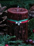 Yule Log Candle - $9.95
