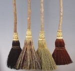 Mixed Colored Kids Brooms - $23