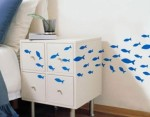 Blue Fishes Wall Stickers - $20