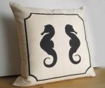 Seahorse Pillow - $34