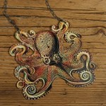 Octopus Necklace - $25