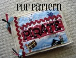 Pirate Quiet Book PDF Pattern - $5