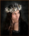 Silvery Icicle Crown - $120