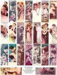 It Must Be Love Vintage Couples Image Sheet - $2.99
