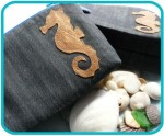 Hippocampus Make Up Bag - $18