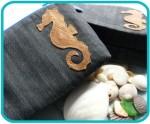 Hippocampus Make Up Bag - $18