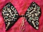 Black, White and Blue Fairy Wings - $16