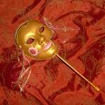Elizabeth I Tudor Hand Held Mask - $86