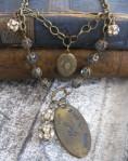 Mardi Gras Jazz Club Necklace - $72