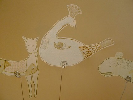 Set of 3 Sweet Vellum Shadow Puppets - $20