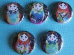 Babushka Dolls Magnet Set - $4.50