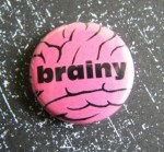 Brainy Button - $1.75
