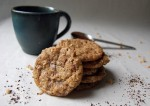 Coffee Toffee Crunch Cookies - $7.50