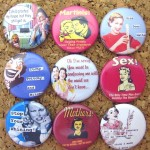 Funny Retro Push Pins - $6.75