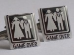 Game Over Cufflinks - $24.99