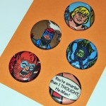 He Man Button Set - $5