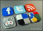 Internet Icons Felt Pins Set - $25.50