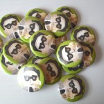 Ira Glass Finger Puppet Button - $1