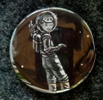 Little Space Girl Pin - $1