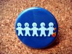 Paper Dolls Pin - $1
