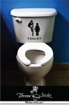 Pervert Toilet Sticker - $7.95