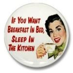 Breakfast in Bed Pin - $1.50