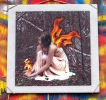 Fire Fairy Art Tile - $75