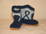 Dallas Cowboy Booties - $5 (Tooele, Utah)