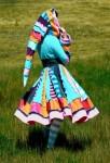 Patchwork Gypsy Elf Coat - $328