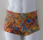 Mens Paisley Swimsuit - $40