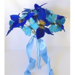 Something Blue Butterfly Bouquet - $59.99