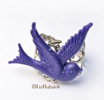 Berry Bird Ring - $11