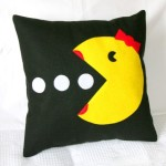 Ms. Pacman Pillow Cover - $19 (Salt Lake City, Utah)
