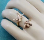 Birds and the Bees Ring - $18