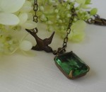 Peridot Necklace - $26