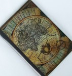 Olde World Map Passport Cover - $5