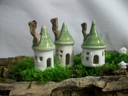 Fairy Houses Set - $38