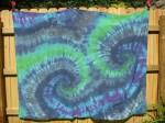 Tie Dye Beach Blanket - $40