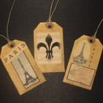 Vintage French Gift Tags - $3.99 (Utah)