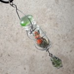 Captured Faerie in Bottle Necklace - $45